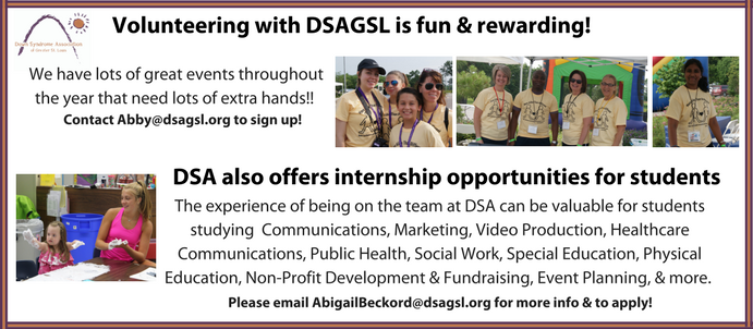volunteering & internships banner